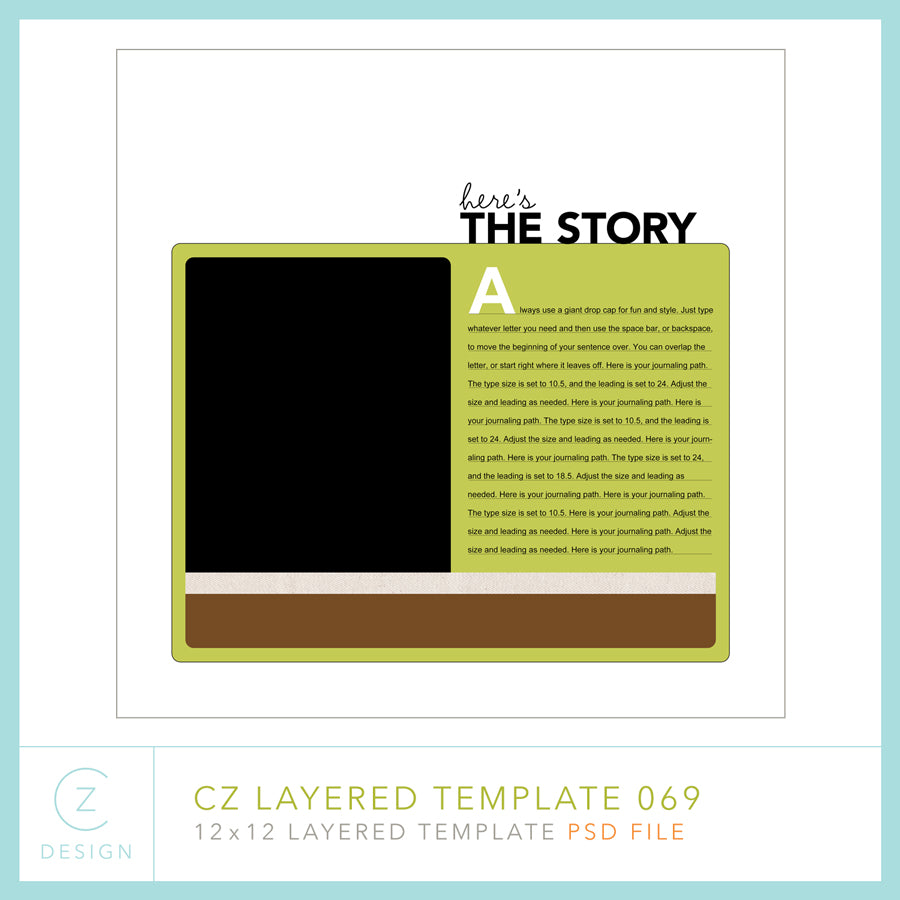 CZ Layered Template 069