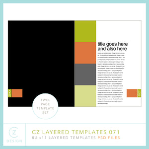 CZ Layered Template 071