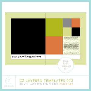 CZ Layered Template 072