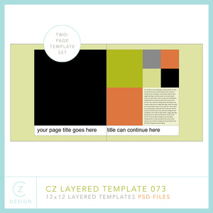 CZ Layered Template 073