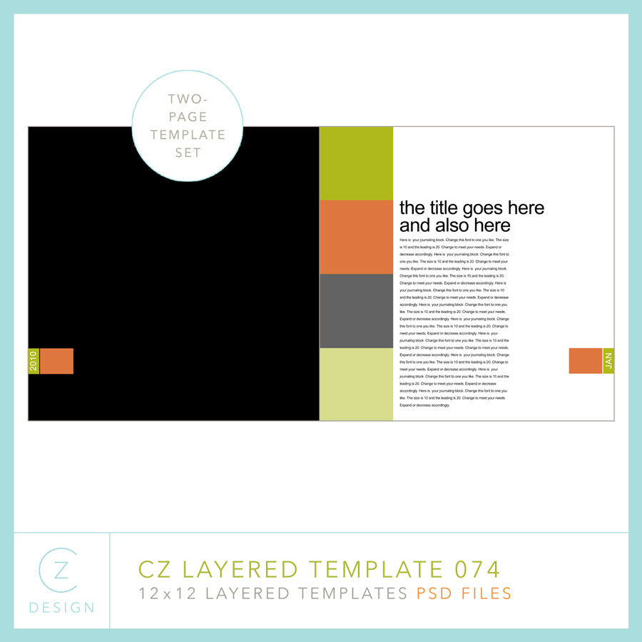 CZ Layered Template 074