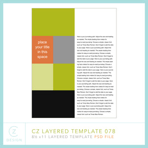 CZ Layered Template 078