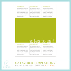 CZ Layered Template 079