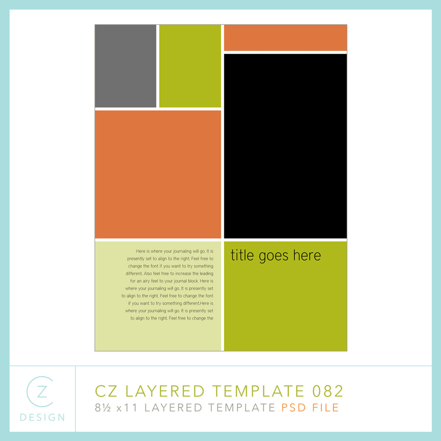 CZ Layered Template 082