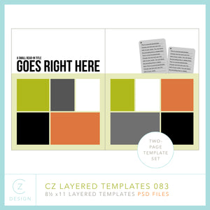CZ Layered Template 083