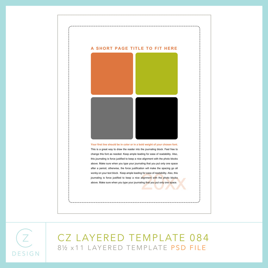 CZ Layered Template 084