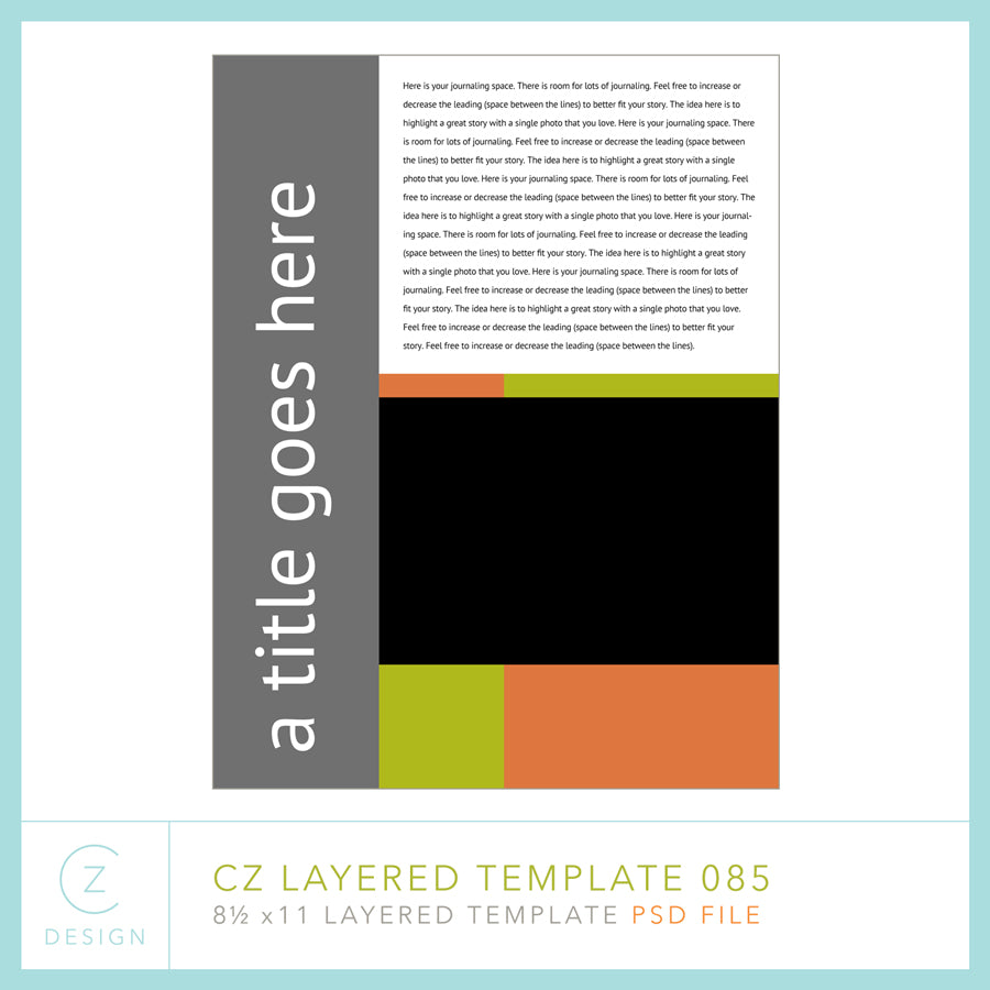 CZ Layered Template 085