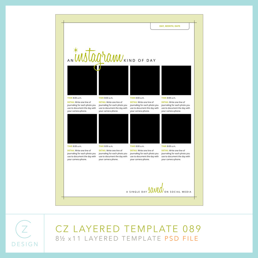 CZ Layered Template 089