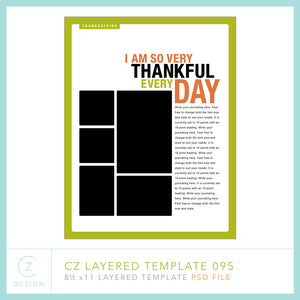 CZ Layered Template 095