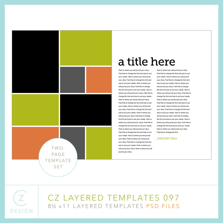 CZ Layered Template 097