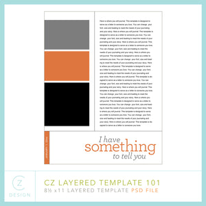CZ Layered Template 101