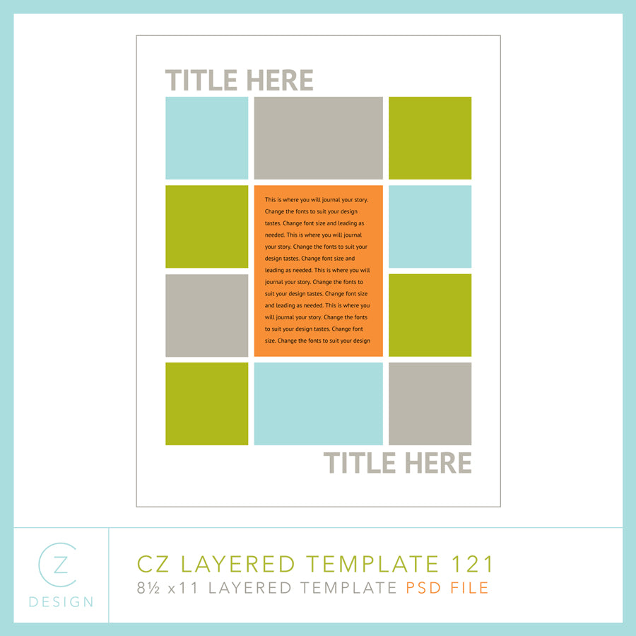 CZ Layered Template 121