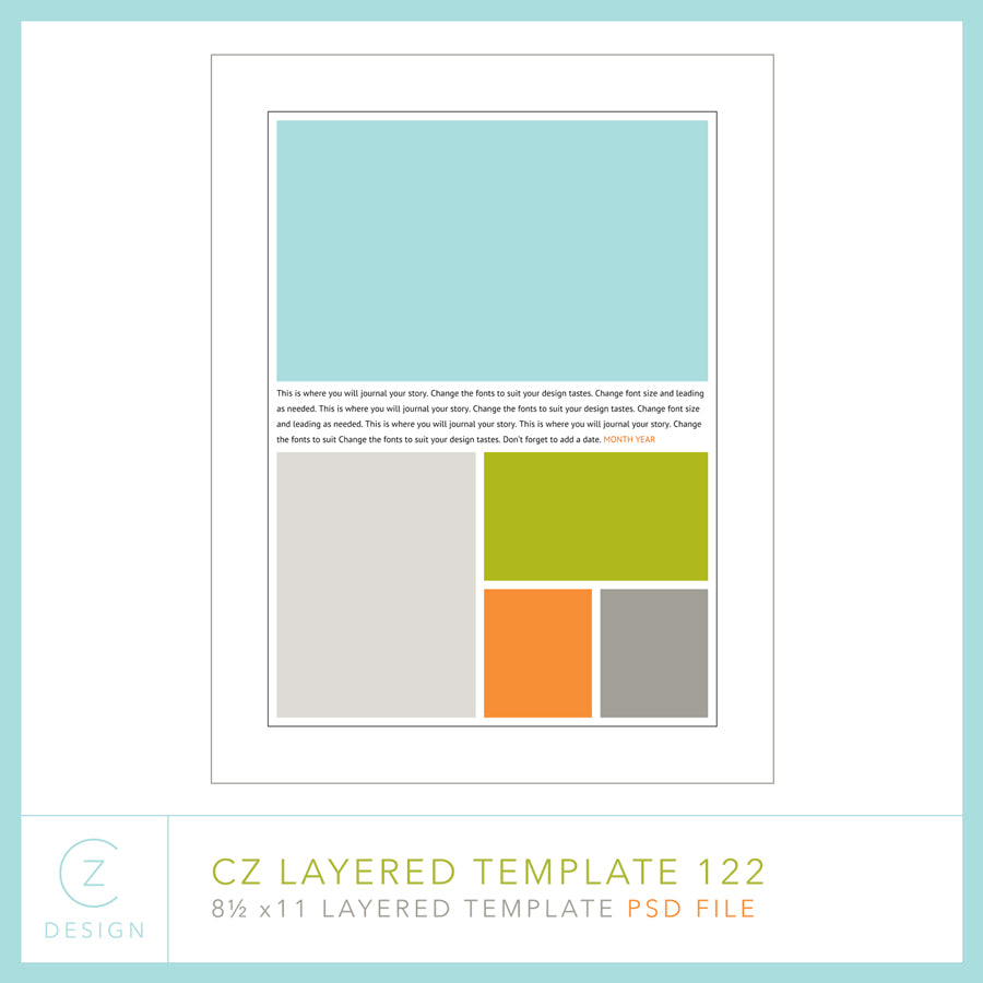 CZ Layered Template 122