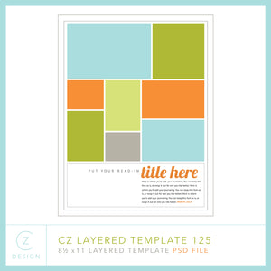 CZ Layered Template 125