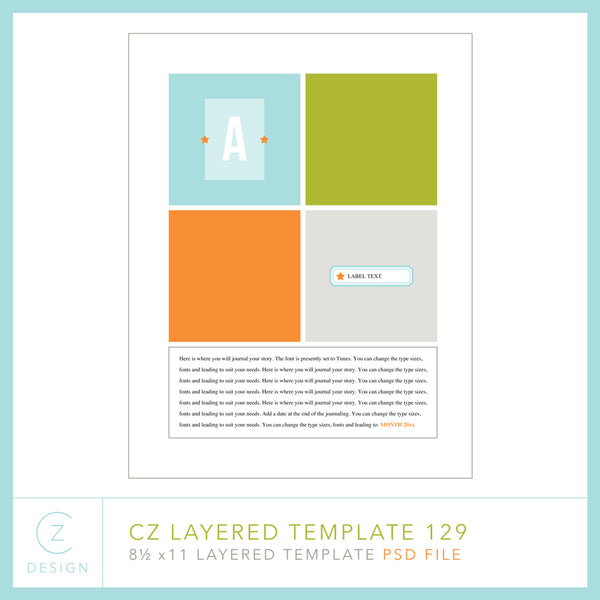 CZ Layered Template 129