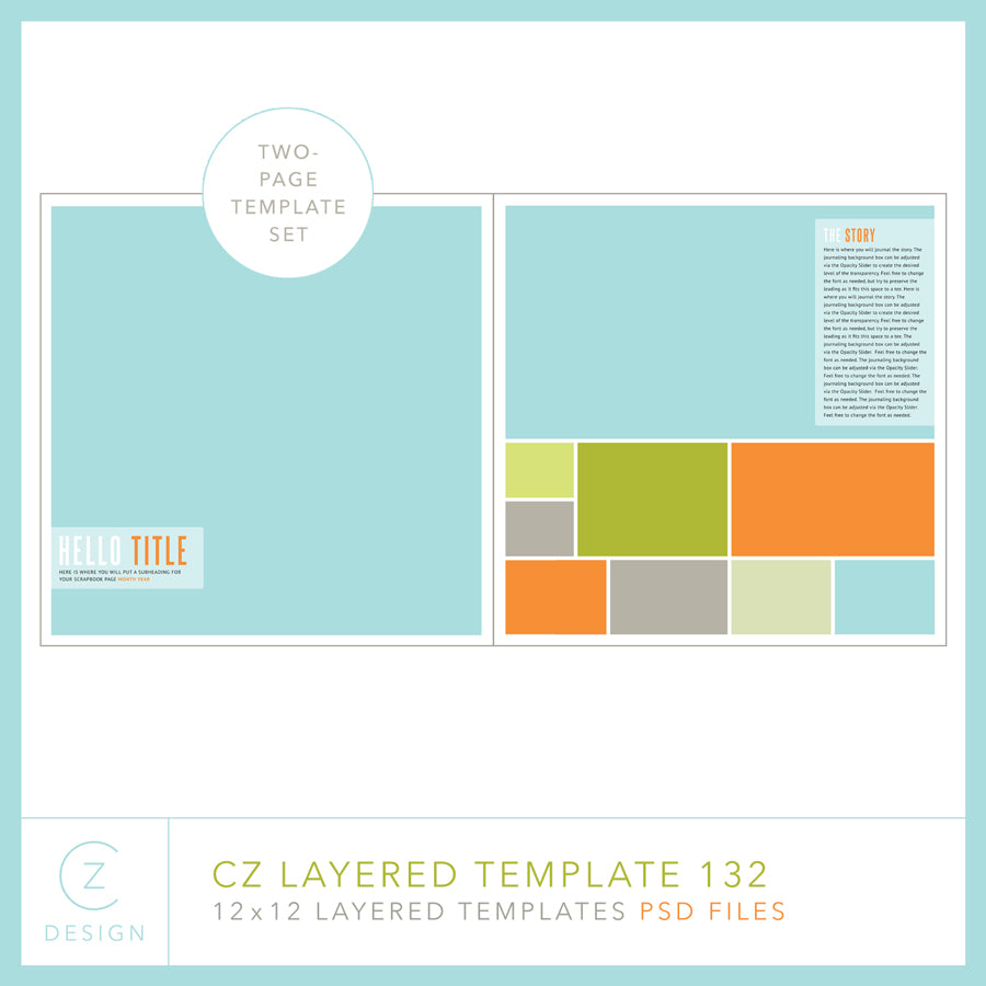 CZ Layered Template 132