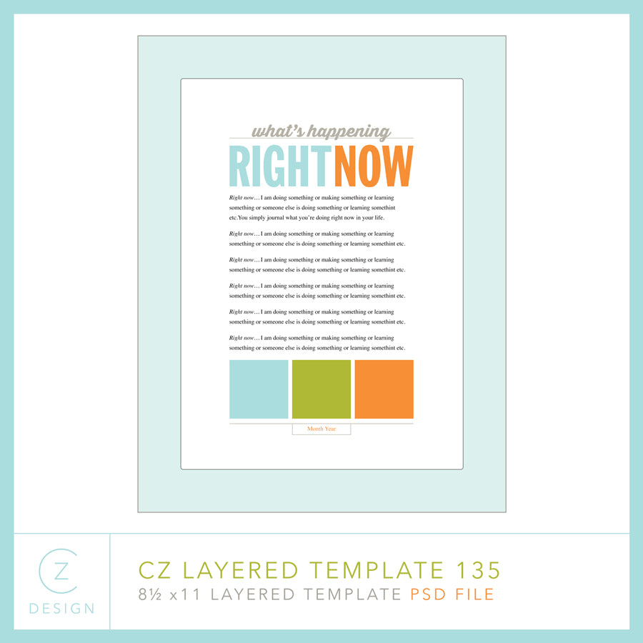 CZ Layered Template 135