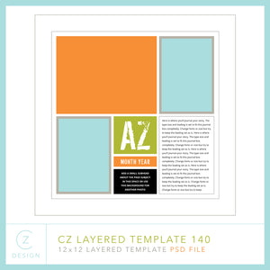 CZ Layered Template 140