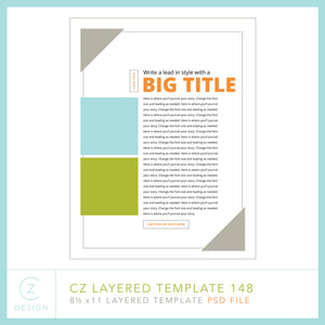 CZ Layered Template 148