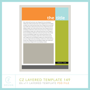 CZ Layered Template 149