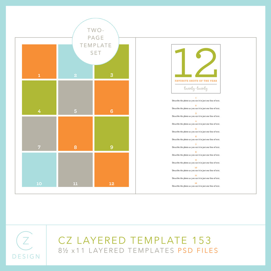 CZ Layered Template 153