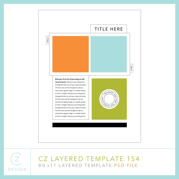 CZ Layered Template 154