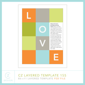 CZ Layered Template 155