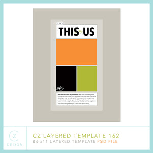 CZ Layered Template 162