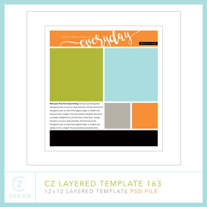 CZ Layered Template 163
