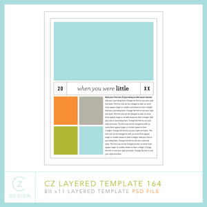 CZ Layered Template 164