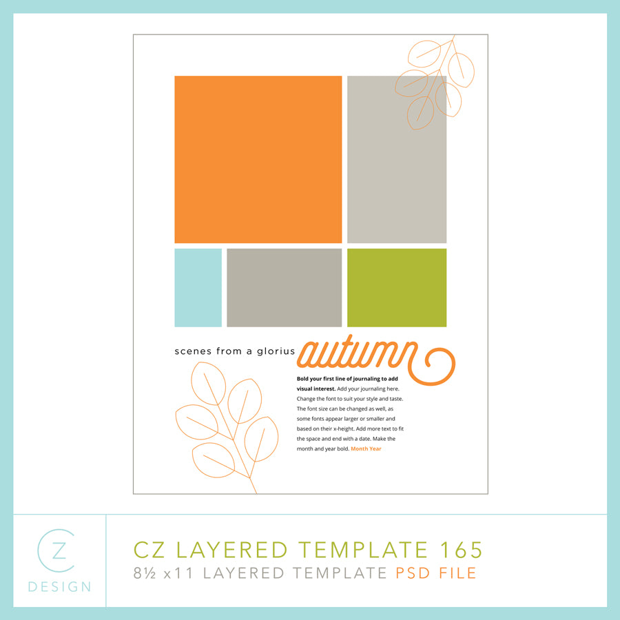 CZ Layered Template 165