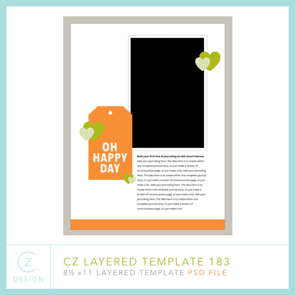 CZ Layered Template 183
