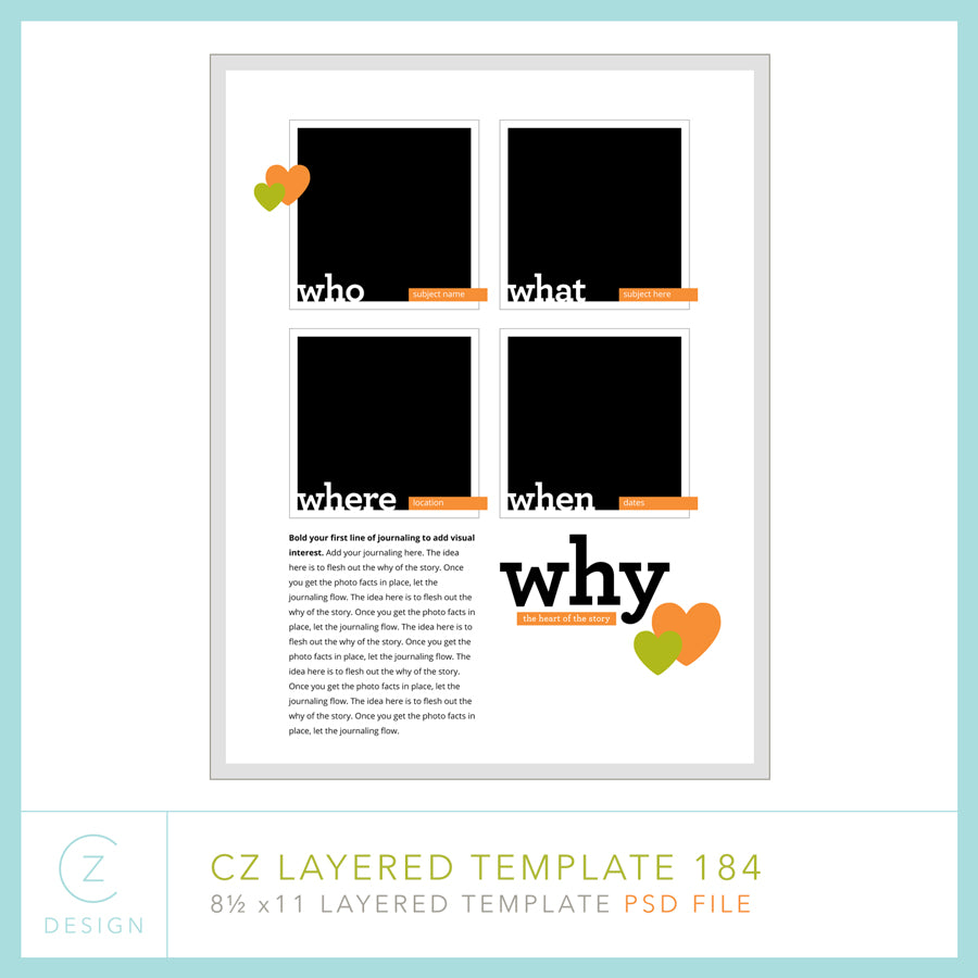 CZ Layered Template 184