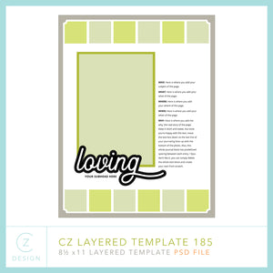 CZ Layered Template 185