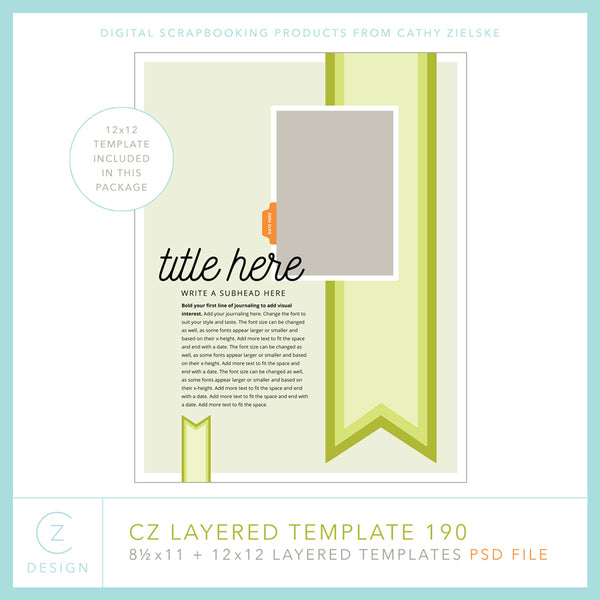 CZ Layered Template 190