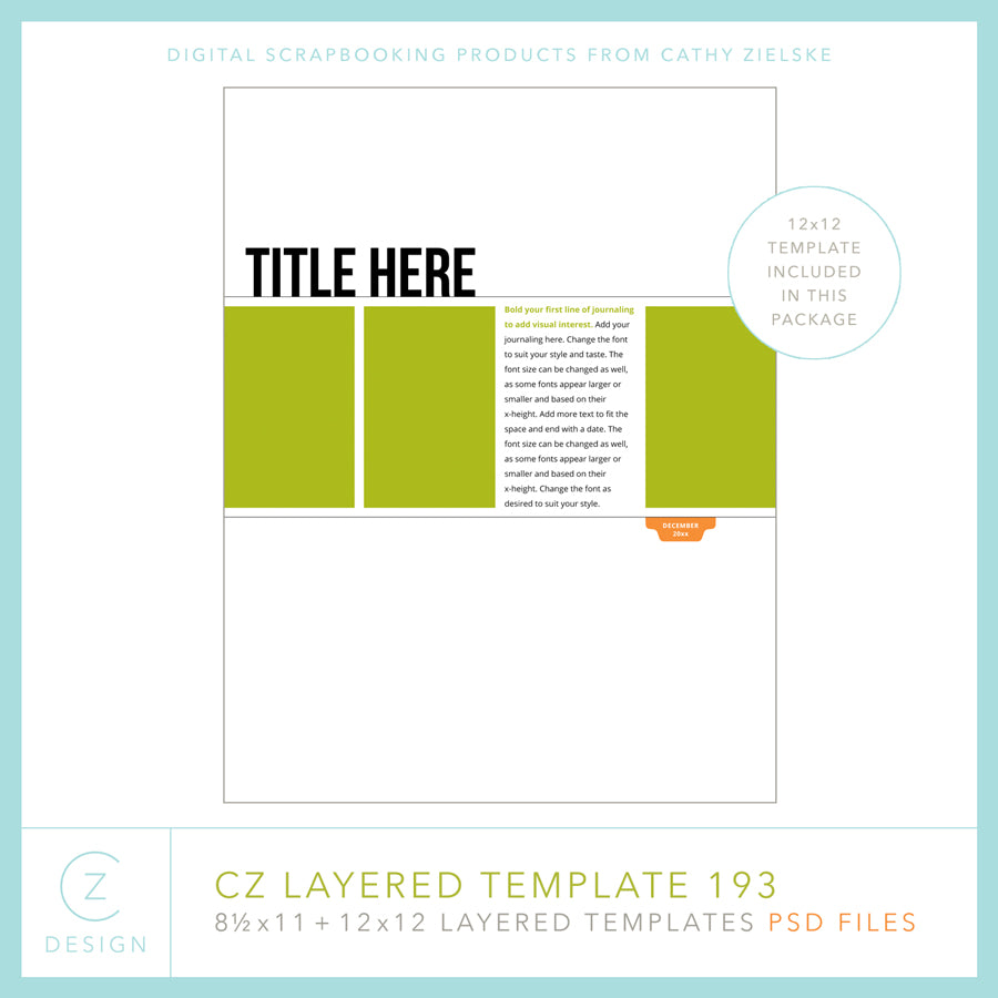 CZ Layered Template 193