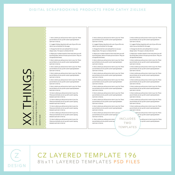 CZ Layered Template 196