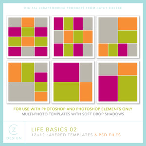 CZ Life Basics Template Set 02