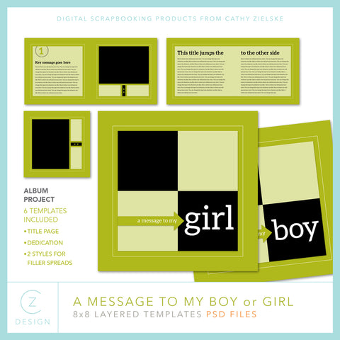 Message to my Boy or Girl Album Set
