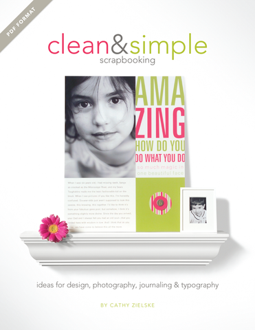 Clean & Simple Scrapbooking eBook