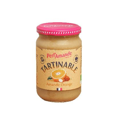 TARTINADE ORANGE AMANDE 300G