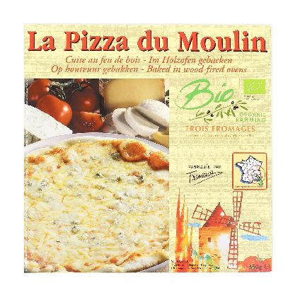 PIZZA 3 FROMAGES 350G