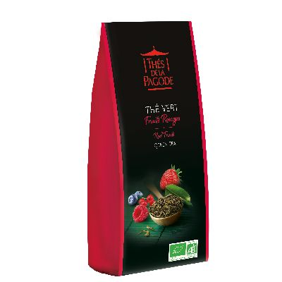 The Vert Fruits Rouges 100G