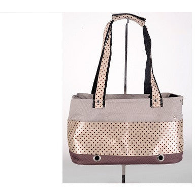 Stylish Shoulder Pet Bag (Beige or Black)