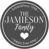 Wall Sign - Family Design