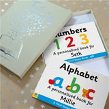 Dual box-set Board Books - Alphabet & Numbers