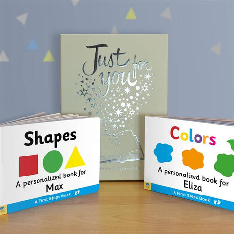Dual box-set Shapes & Colours Board Books
