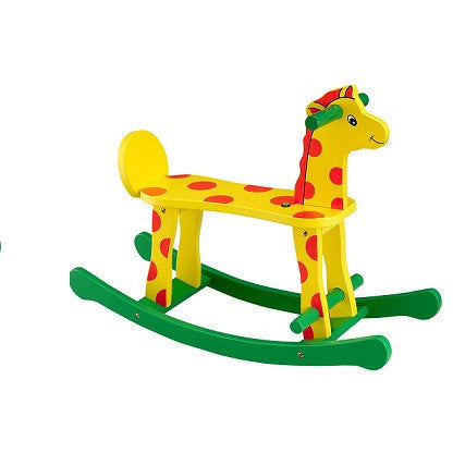 Wooden Toy Rocking Giraffe