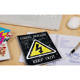 Personalised Notebook High Voltage - Warning