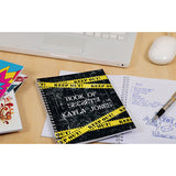 Top Secret Personalised Notebook - KEEP OUT!